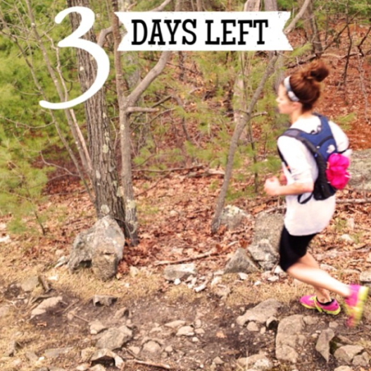 Only 3 days until I conquer my first full marathon.