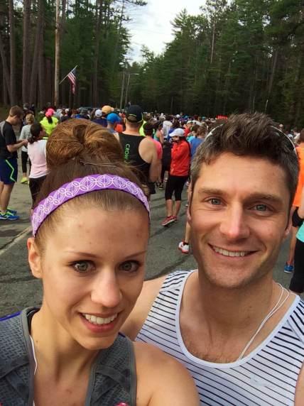 Pre-race selfie.  Duh.