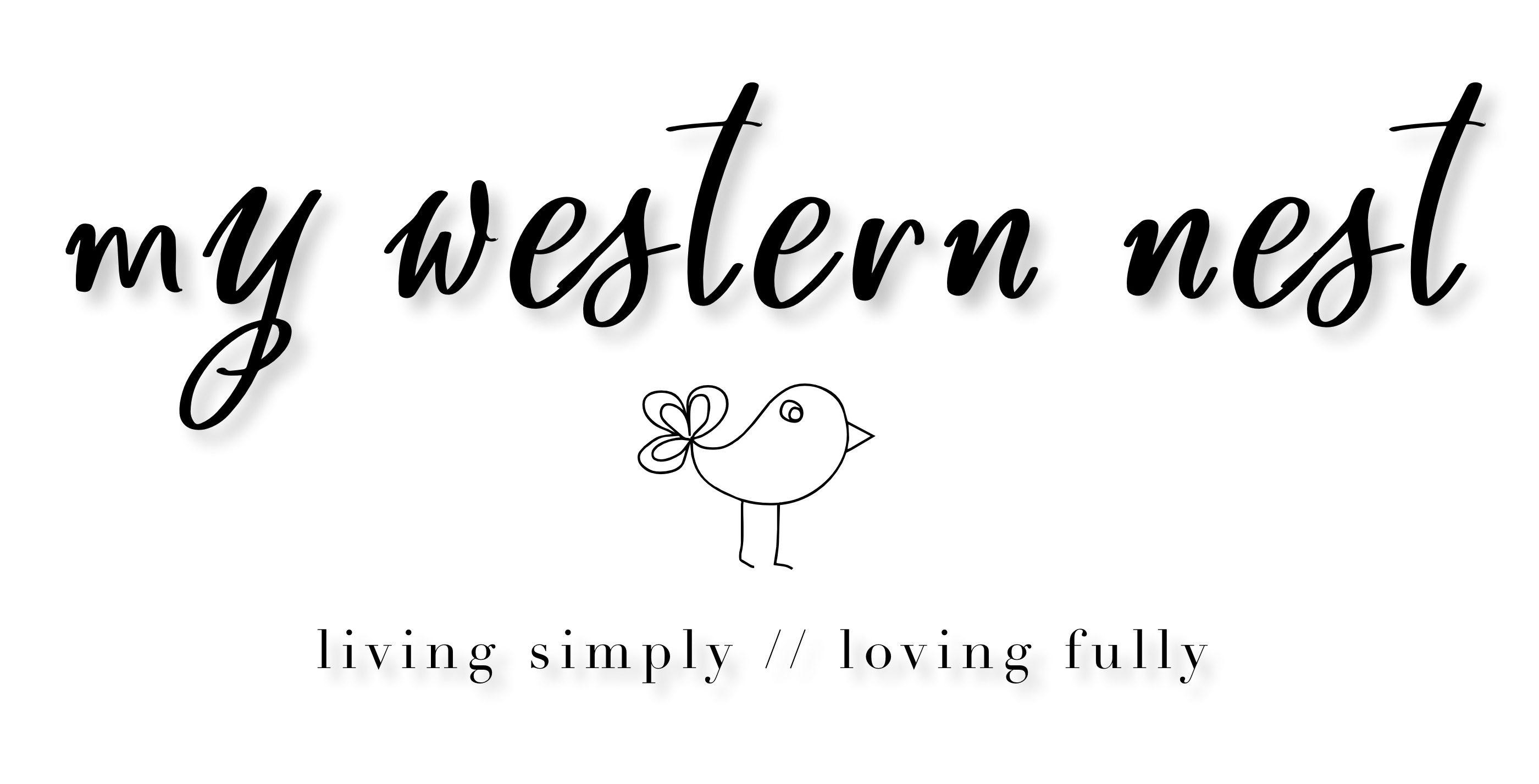 my western nest.